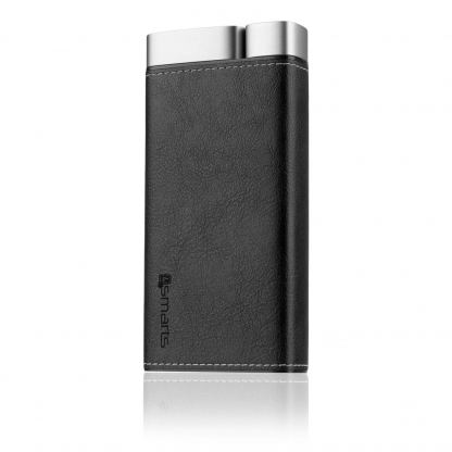 4smarts Power Bank VoltHub Leatherette 20000 mAh - външна батерия с два USB и USB-C изходи (черен) 3