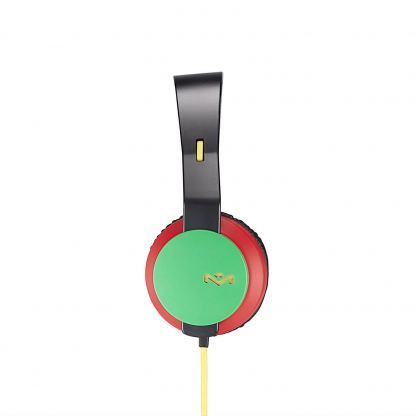 The House of Marley The Roar On-Ear Headphones - слушалки за iPhone, iPod и устройства с 3.5 мм изход (раста) 2