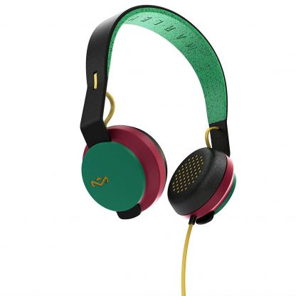 The House of Marley The Roar On-Ear Headphones - слушалки за iPhone, iPod и устройства с 3.5 мм изход (раста) 4