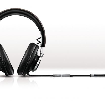 Philips Fidelio HiFi L1 - аудиофилски слушалки с микрофон и управление на звука за iPhone, iPad, iPod 2