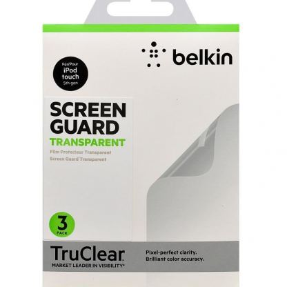 Belkin Screen Guard Clear - защитни покрития за iPod Touch 5 (три броя) 2