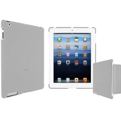 Artwizz SeeJacket Clip - кейс за iPad 3 (съвместим с Apple Smart cover) - сив