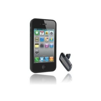 MoGo BT Headset & Case System - кейс и блутут слушалка за iPhone 4, iPhone 4S 3