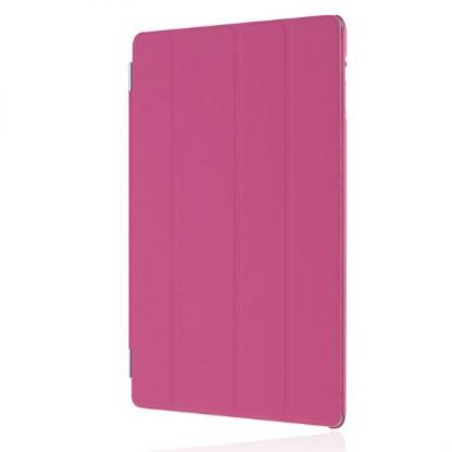 Incipio Smart Feather - кейс  за iPad 4, iPad 3, iPad 2 (съвместим с Apple Smart cover) - розов 2