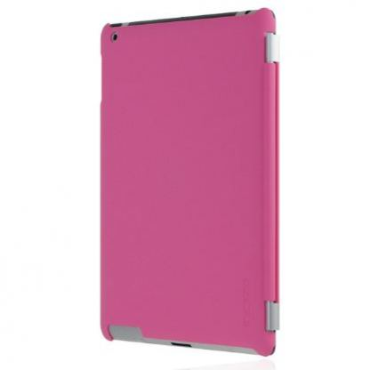 Incipio Smart Feather - кейс  за iPad 4, iPad 3, iPad 2 (съвместим с Apple Smart cover) - розов 3