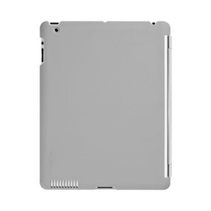 SwitchEasy CoverBuddy - кейс за iPad 4, iPad 3 (съвместим с Apple Smart cover) - сив