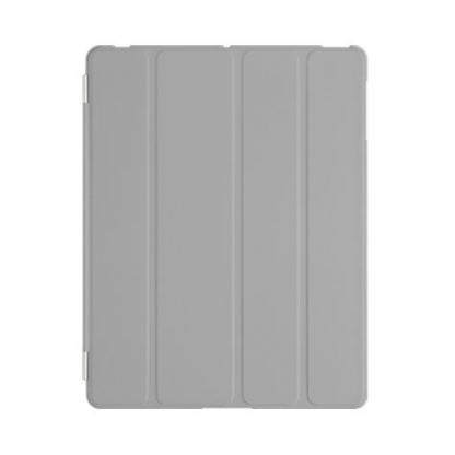 SwitchEasy CoverBuddy - кейс за iPad 4, iPad 3 (съвместим с Apple Smart cover) - сив 3