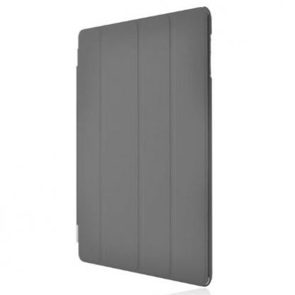 Incipio Smart Feather - кейс  за iPad 4, iPad 3, iPad 2 (съвместим с Apple Smart cover) - тъмносив 2