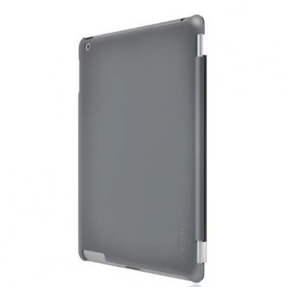 Incipio Smart Feather - кейс  за iPad 4, iPad 3, iPad 2 (съвместим с Apple Smart cover) - тъмносив 3