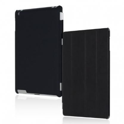 Incipio Smart Feather - кейс  за iPad 4, iPad 3, iPad 2 (съвместим с Apple Smart cover) - черен