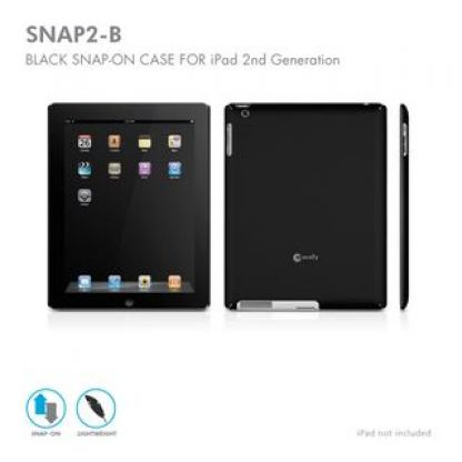 Macally Case Snap-On за iPad 2 (черен)