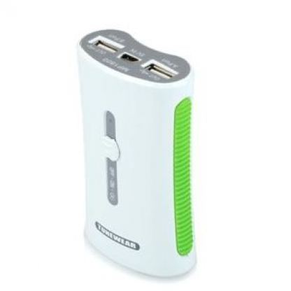 Tunewear TUNEMAX 2 port USB - външна батерия с два USB порта за iPhone, iPad и iPod (4400 mAh)
