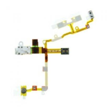 Audio Jack Flex Cable - модул за звука за iPhone 3GS (бял)