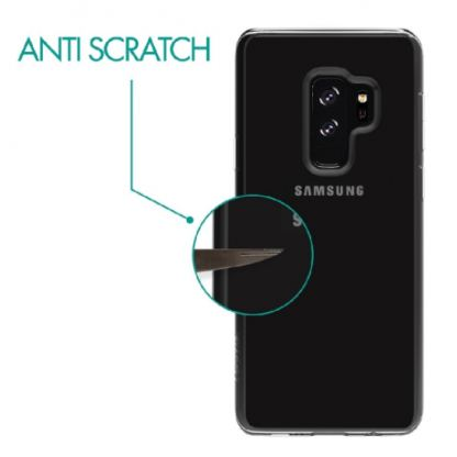 Skech Crystal Case - силиконов TPU калъф за Samsung Galaxy S9 plus (прозрачен) 3