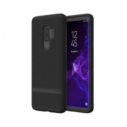 Incipio NGP Advanced Case - удароустойчив силиконов (TPU) калъф за Samsung Galaxy S9 plus (черен)
