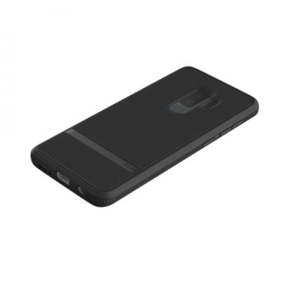 Incipio NGP Advanced Case - удароустойчив силиконов (TPU) калъф за Samsung Galaxy S9 plus (черен) 7