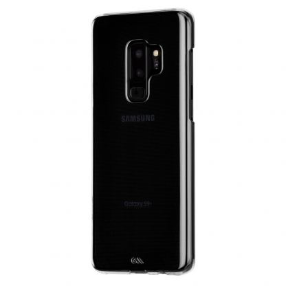 CaseMate Barely There - поликарбонатов кейс за Samsung Galaxy S9 (прозрачен) 3