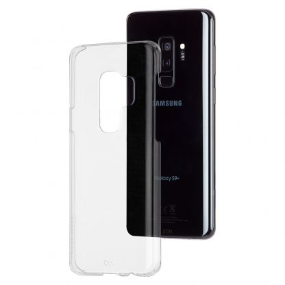 CaseMate Barely There - поликарбонатов кейс за Samsung Galaxy S9 (прозрачен) 4