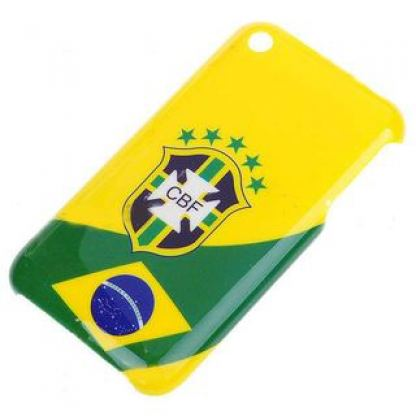 Brazil Case Cover - поликарбонатов кейс за iPhone 3G/3Gs