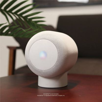 Elago HomePod Silicone Stand - силиконова поставка за Apple HomePod (черна) 5