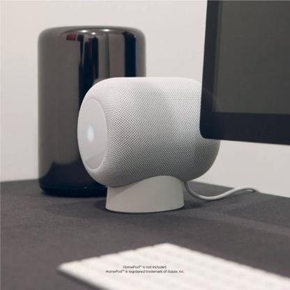 Elago HomePod Silicone Stand - силиконова поставка за Apple HomePod (черна) 6