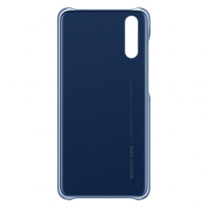 Huawei Color Case - оригинален поликарбонатов кейс за Huawei P20 (син) 2