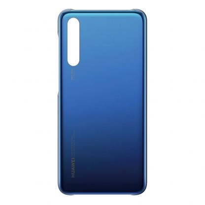 Huawei Color Case - оригинален поликарбонатов кейс за Huawei P20 Pro (син)