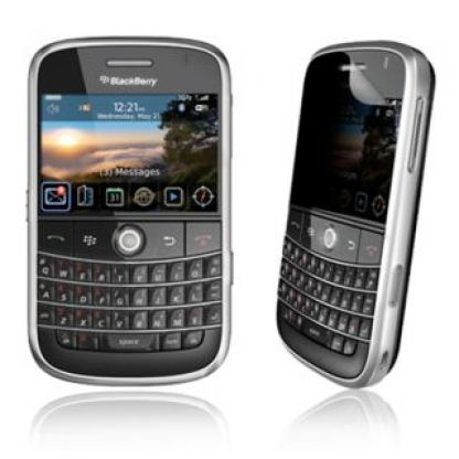 InvisibleSHIELD за BlackBerry Bold 9000 (предна част)