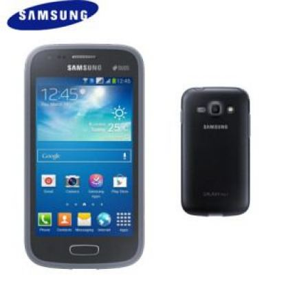 Samsung Protective Cover+ EF-PS727 - хибриден кейс за Samsung Galaxy Ace 3 (черен)