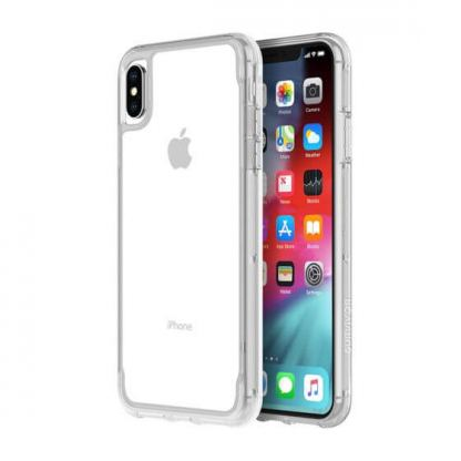Griffin Survivor Clear Case - хибриден удароустойчив кейс за iPhone XS Max (прозрачен) 4