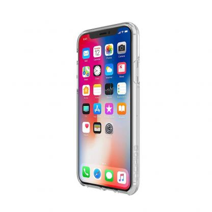Incipio Classic Design Series Case - дизайнерски поликарбонатов кейс за iPhone XS, iPhone X (прозрачен) 2