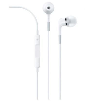 Apple In-Ear Headphones with Remote and Mic - слушалки с микрофон за iPhone, iPod и iPad (модел 2013)