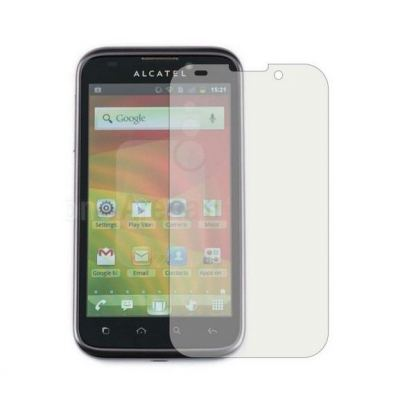 Trendy8 Screen Protector - защитно покритие за дисплея на Alcatel One Touch 997D (2 броя)