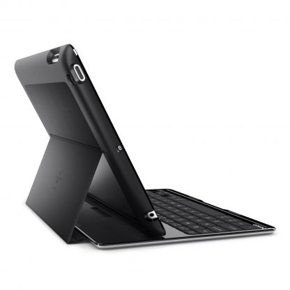Belkin Ultimate Keyboard Case - кейс, клавиатура и стойка за iPad 4, 3, 2 (черен) 2