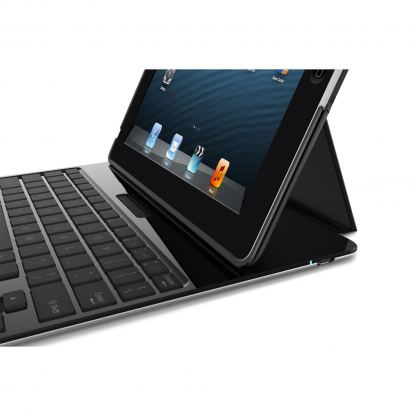 Belkin Ultimate Keyboard Case - кейс, клавиатура и стойка за iPad 4, 3, 2 (черен) 3