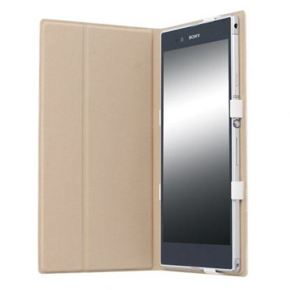 Krusell Malmo Tablet Case - кожен кейс и поставка за Sony Xperia Z Ultra (бял) 3