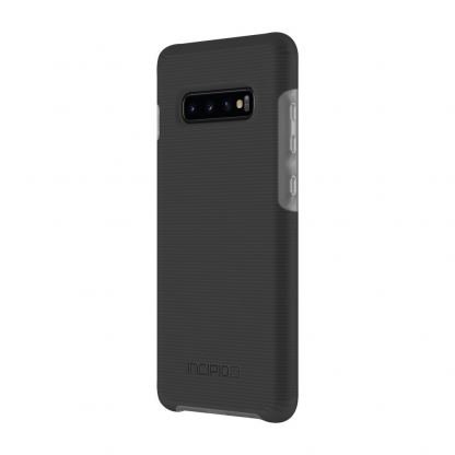 Incipio Aerolite Case - удароустойчив силиконов (TPU) калъф за Samsung Galaxy S10 Plus (черен)