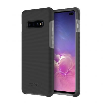 Incipio Aerolite Case - удароустойчив силиконов (TPU) калъф за Samsung Galaxy S10 Plus (черен) 2