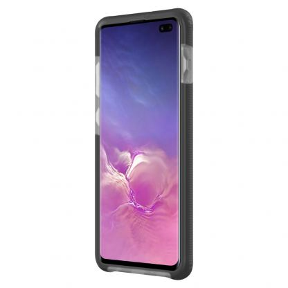 Incipio Aerolite Case - удароустойчив силиконов (TPU) калъф за Samsung Galaxy S10 Plus (черен) 3