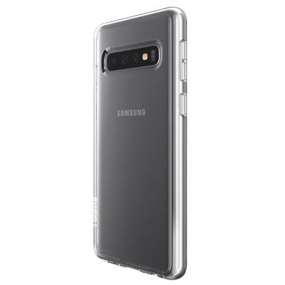 Skech Crystal Case - силиконов TPU калъф за Samsung Galaxy S10 Plus (прозрачен)