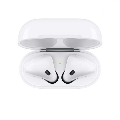 Apple AirPods 2 with Charging Case - оригинални безжични слушалки за iPhone, iPod и iPad 7