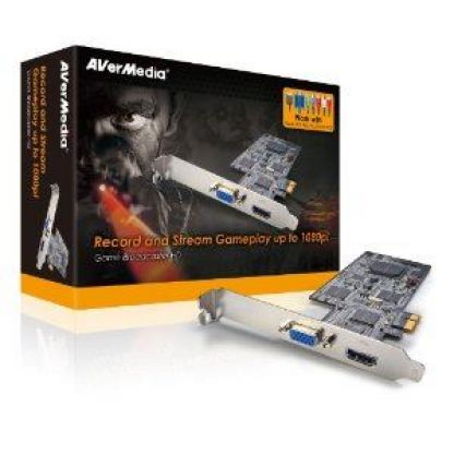 Aver Media  gaming capture  AVerTV Gamer Broadcaster HD, PCI ex ,гейминг контролер