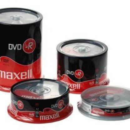 DVD+R 4.7Gb MAXELL 50 бр. SHRINK WRAPPED