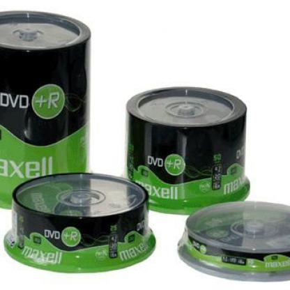 DVD+R4.7Gb 16sp 25 бр. shrink  MAXELL