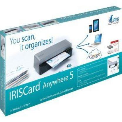 IRISCard Anywhere5 безжичен Business Cards Scanner
