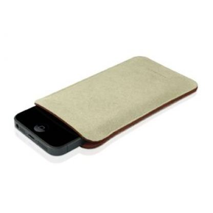 Macally Microfiber Pouch - микрофибърен калъф за iPhone 5, iPhone 5S 3