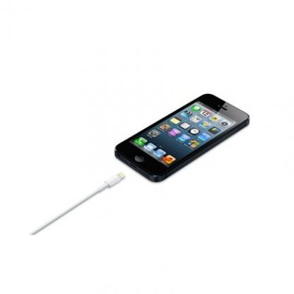 Apple Lightning to USB Cable - оригинален USB кабел за iPhone 5, iPod Touch 5, iPod Nano 7, iPad 4 и iPad Mini (2 метра) 2