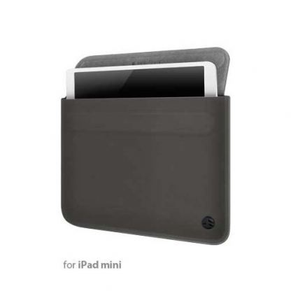 SwitchEasy Thins Black Ultra Slim Sleeve - неопренов калъф за iPad mini (съвместим с Apple Smart Cover)