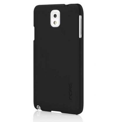 Incipio Feather Case - поликарбонатов кейс за Samsung Galaxy Note 3 N9000 (черен)