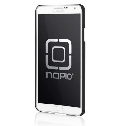 Incipio Feather Case - поликарбонатов кейс за Samsung Galaxy Note 3 N9000 (черен)  2